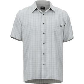 Marmot Eldridge Camisa Manga Corta Hombre, glacier grey